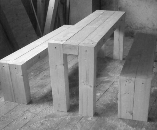 Modulare Designer-Sitzgruppe